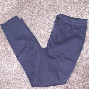 Level 99 charcoal skinny jeans.